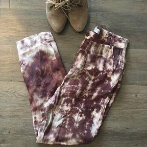 Zara Woman Premium Denim Collection Slouchy Pants